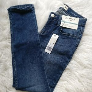 Crafted by Lee Mid-Rise Skinny Jeans
